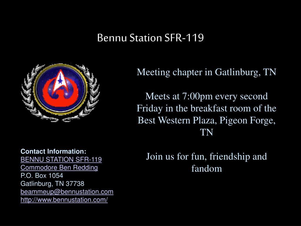 Bennu Station SFR-119