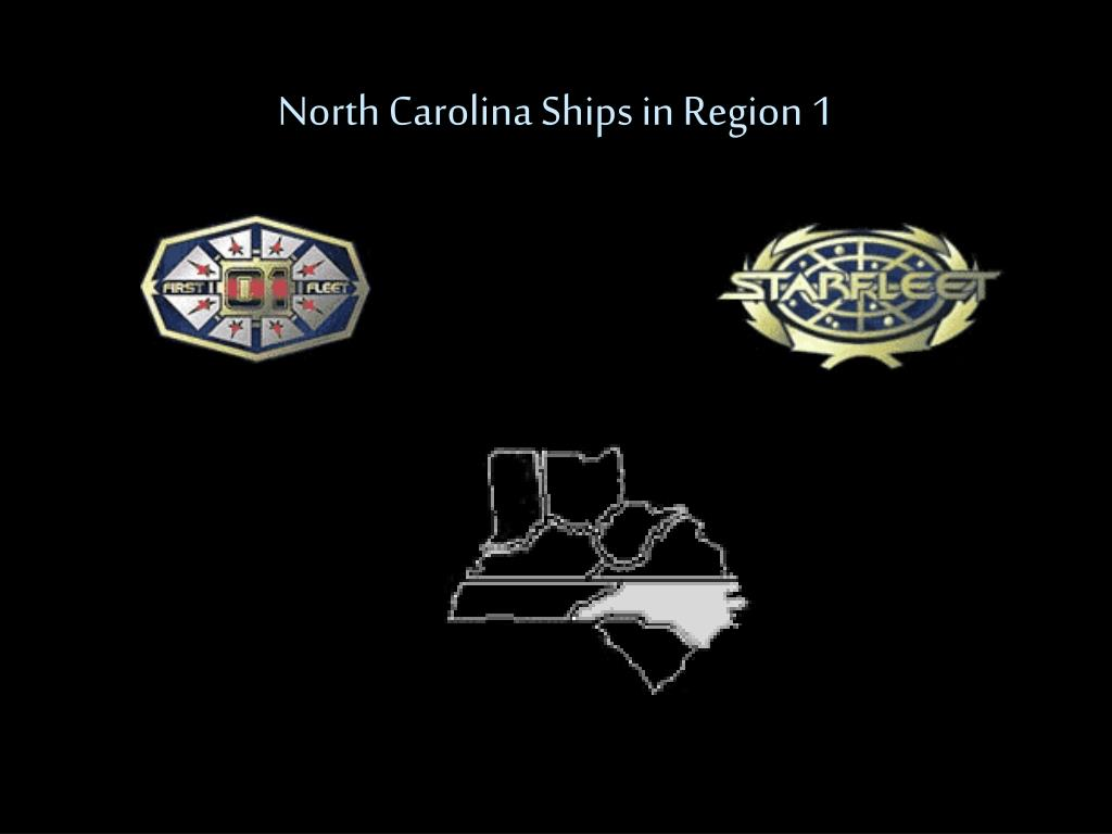 North Carolina Ships in Region 1