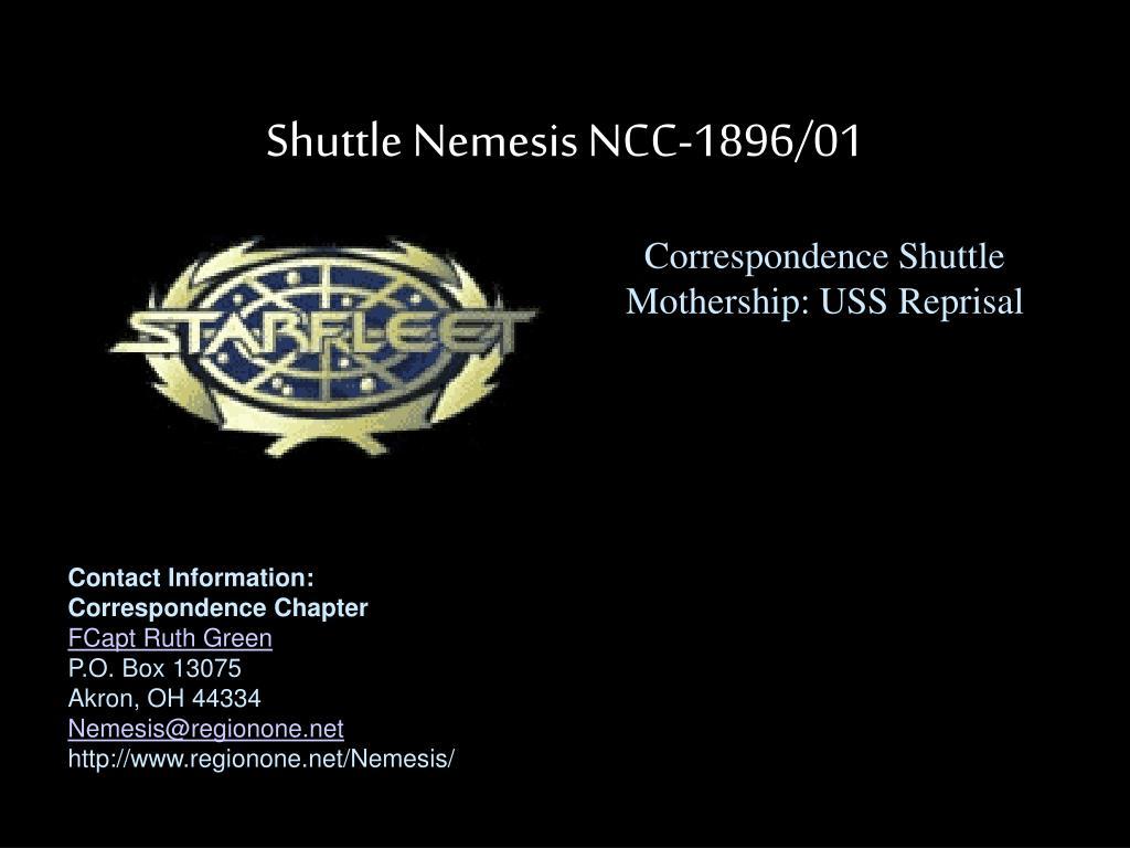 Shuttle Nemesis NCC-1896/01