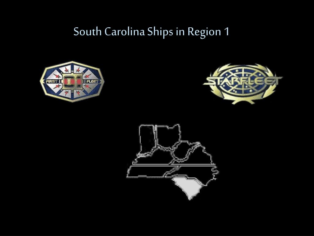 South Carolina Ships in Region 1