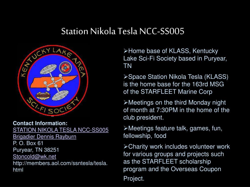 Station Nikola Tesla