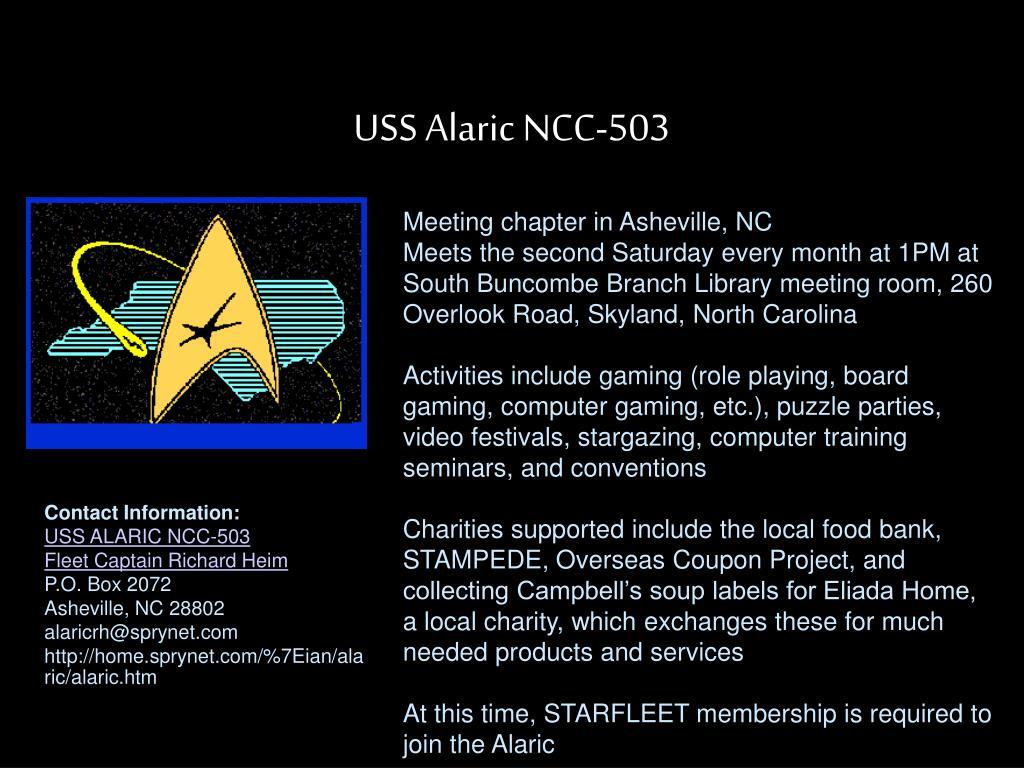 USS Alaric NCC-503