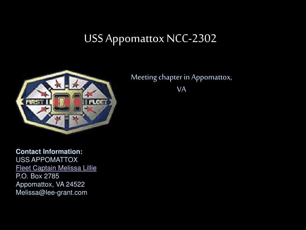 USS Appomattox