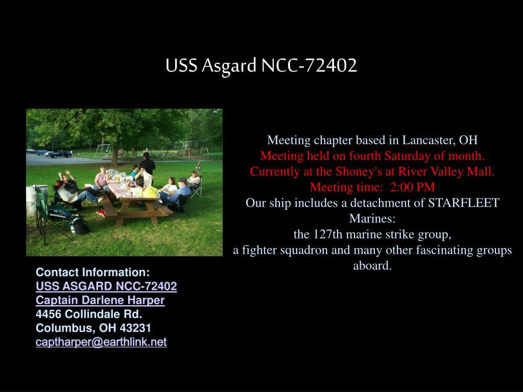 USS Asgard NCC-72402