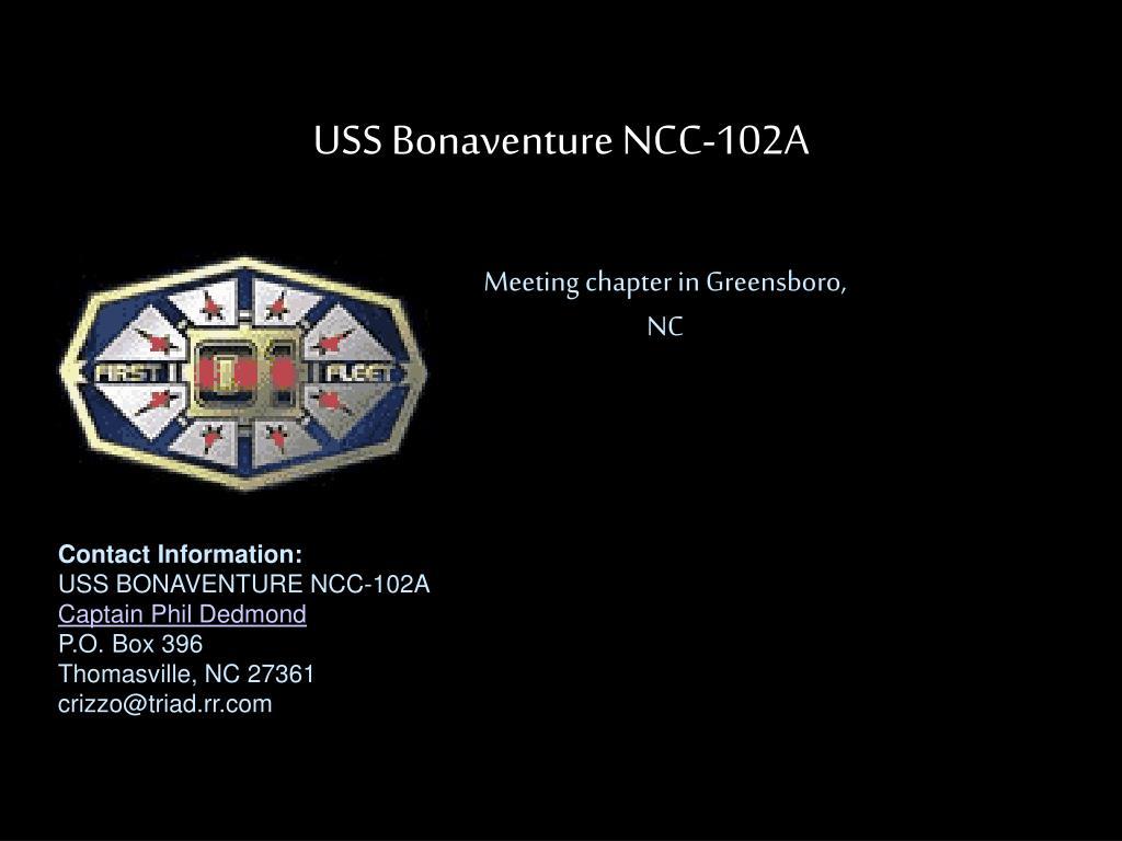 USS Bonaventure NCC-102A