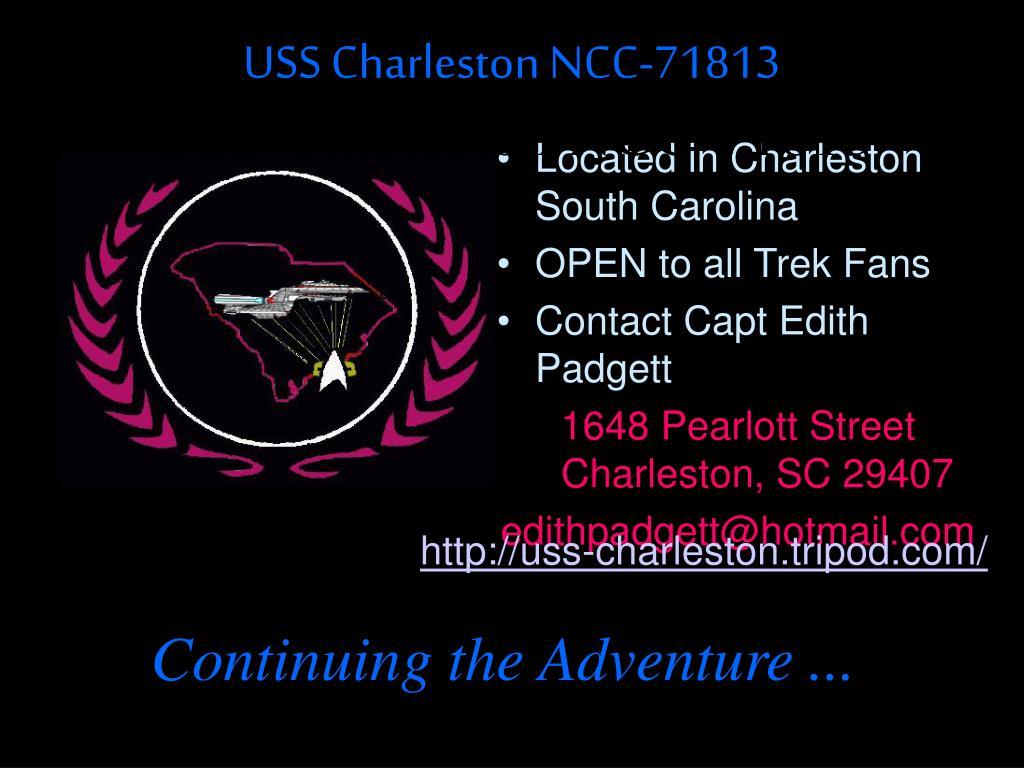 USS Charleston NCC-71813
