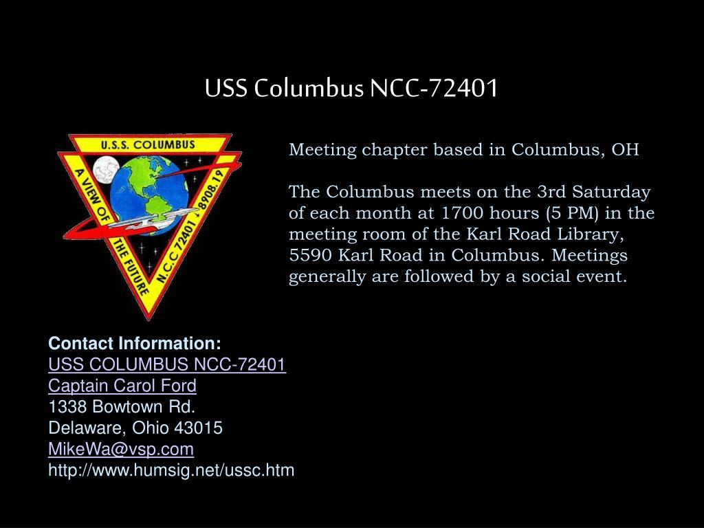 USS Columbus NCC-72401