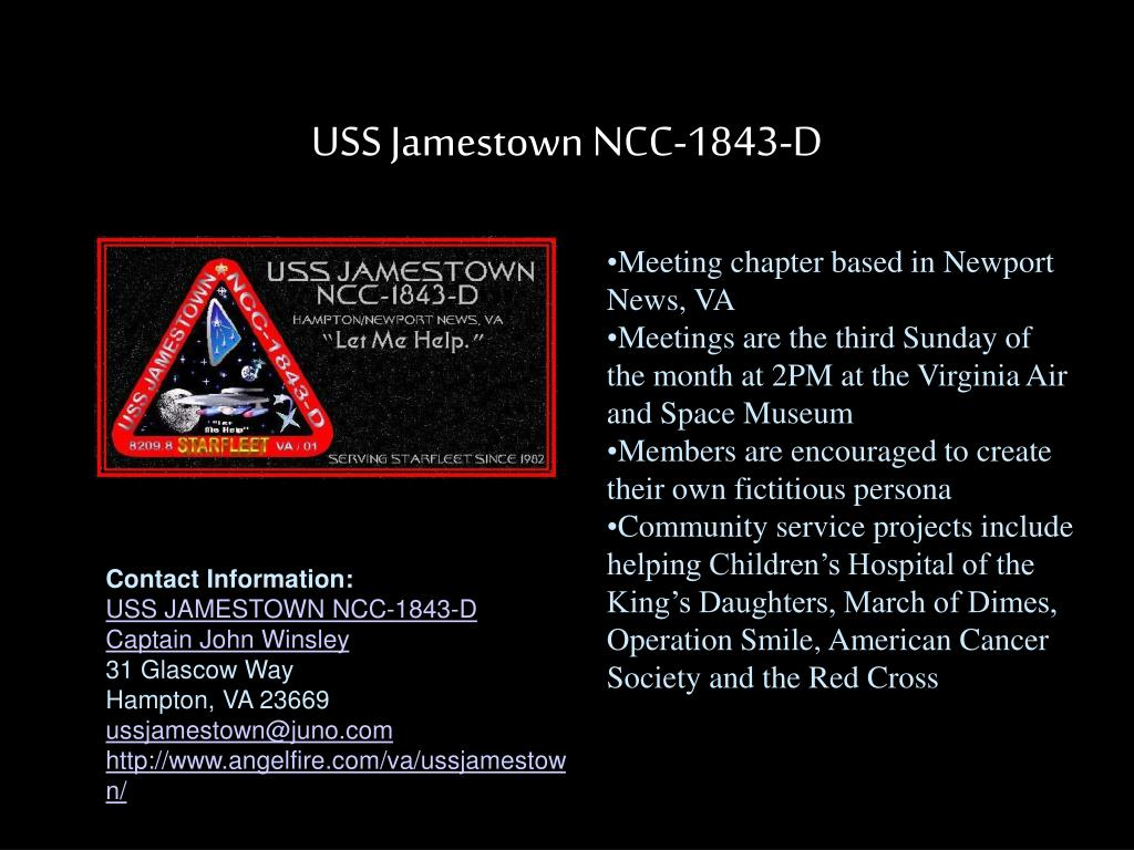 USS Jamestown NCC-1843-D