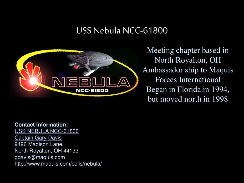 USS Nebula NCC-61800