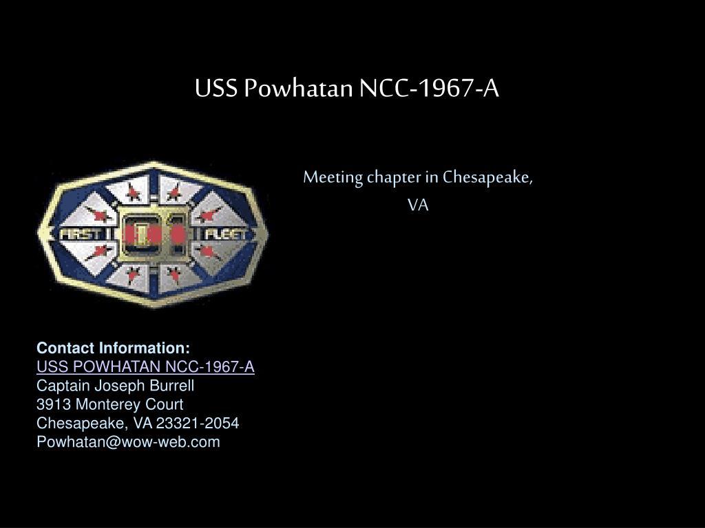 USS Powhatan