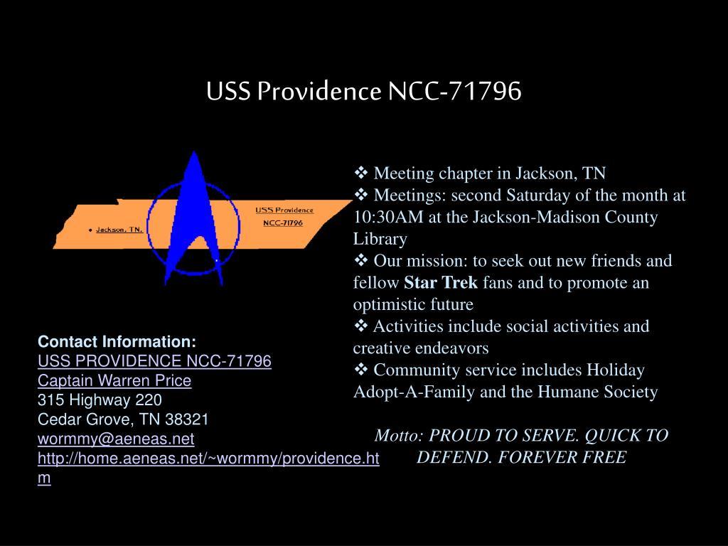 USS Providence NCC-71796