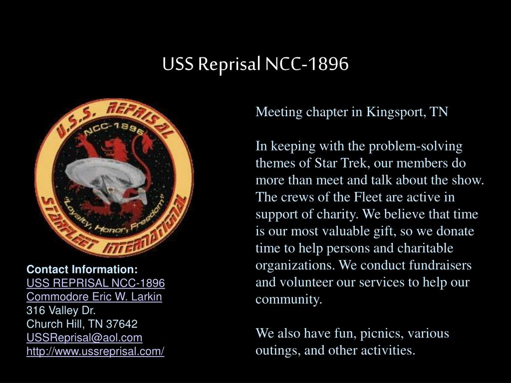 USS Reprisal NCC-1896