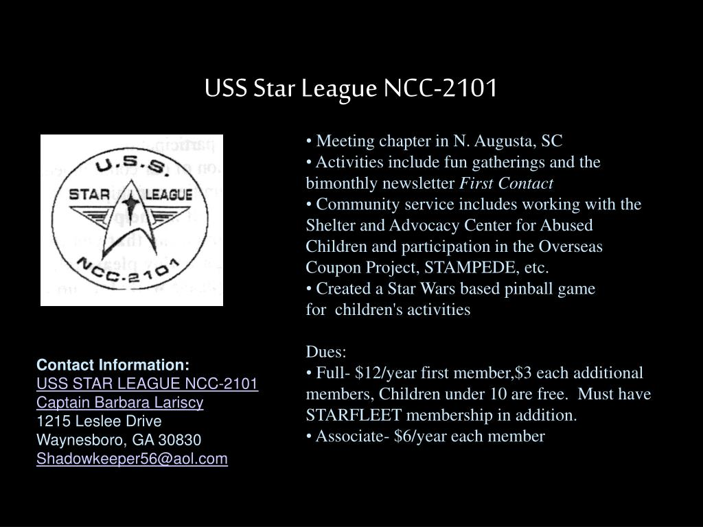 USS Star League NCC-2101