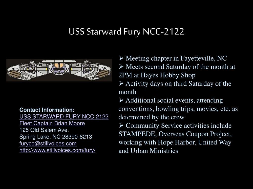 USS Starward Fury NCC-2122