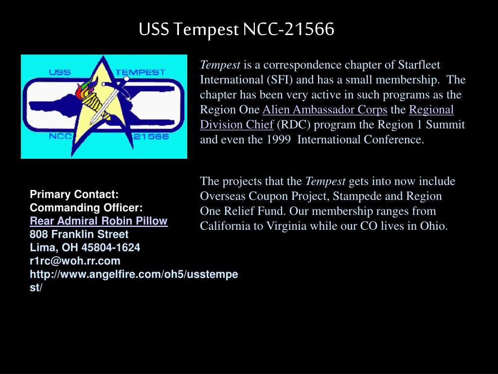 USS Tempest NCC-21566