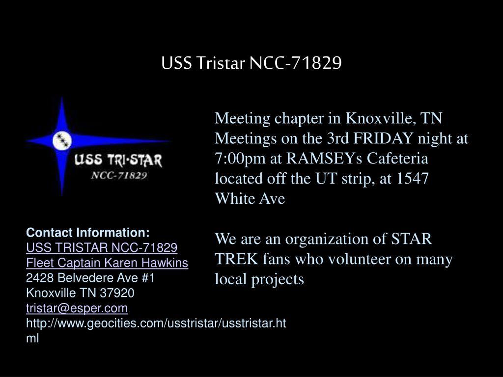 USS Tristar NCC-71829