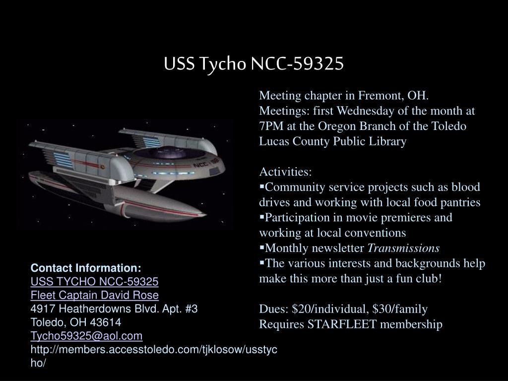 USS Tycho NCC-59325