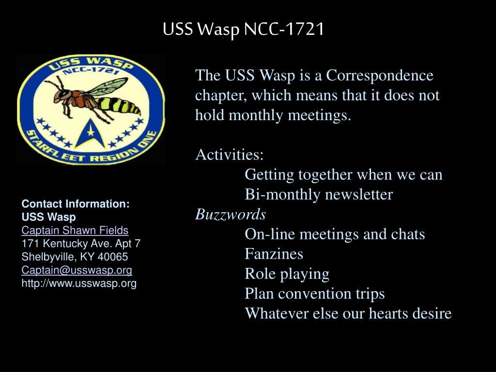 USS Wasp NCC-1721