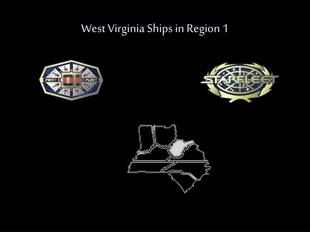 West Virginia Ships in Region 1