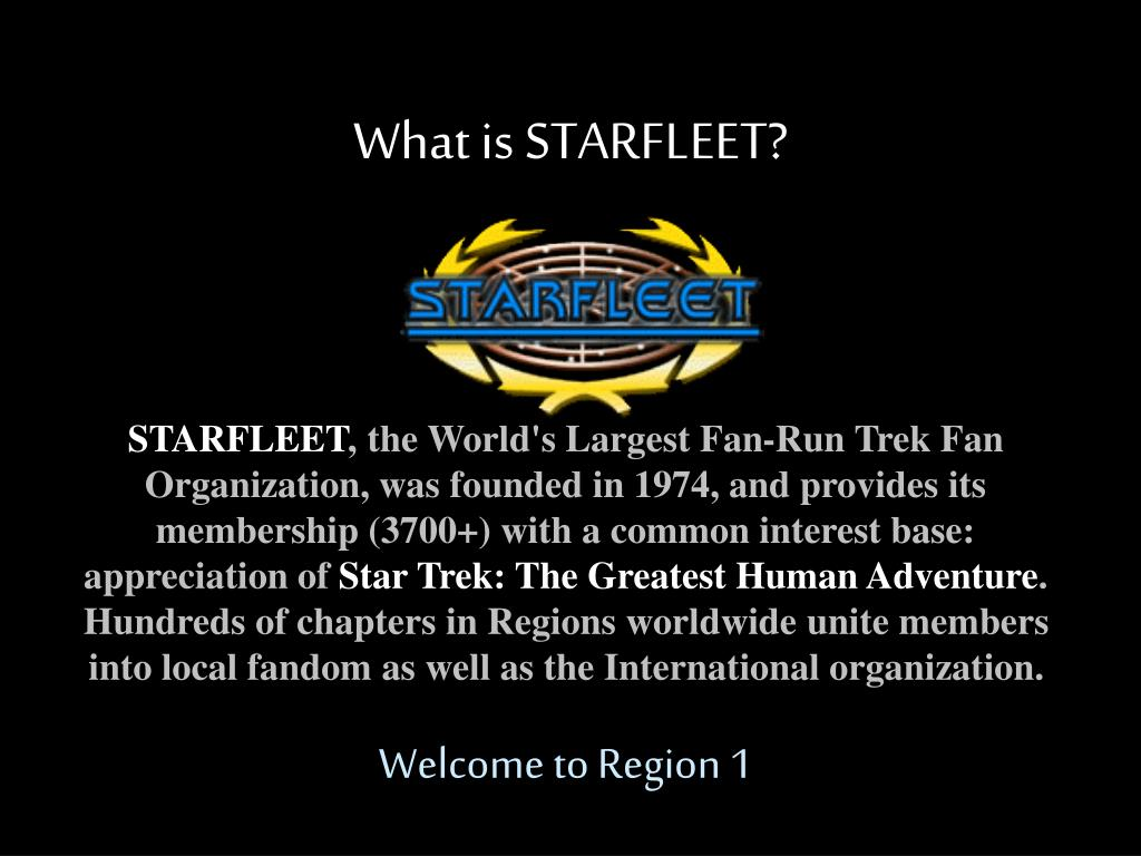 what is starfleet