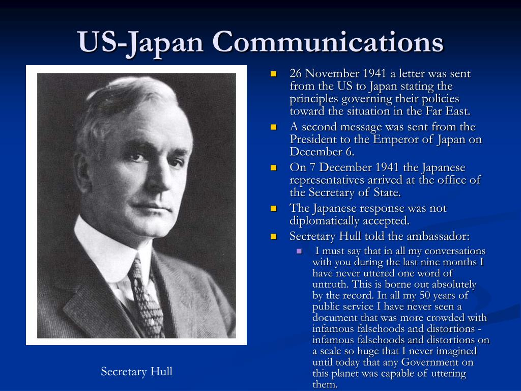 US-Japan Communications