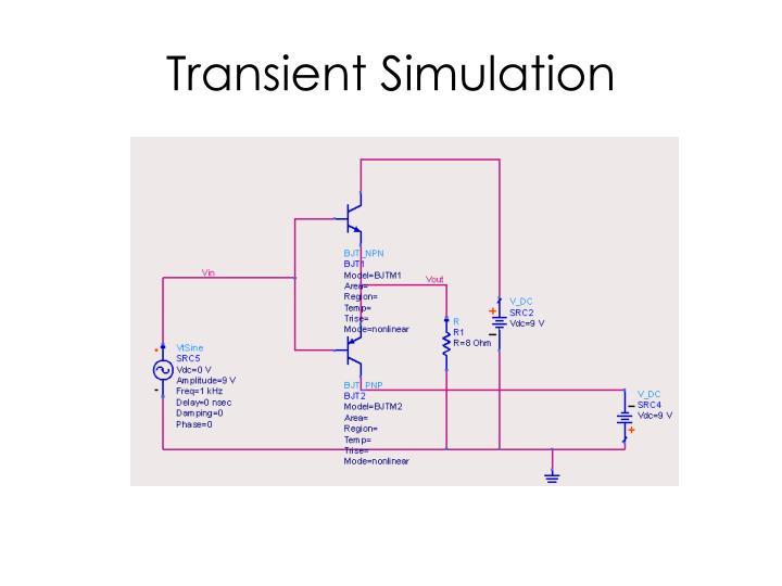 Transient Simulation