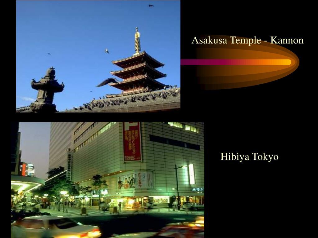 Asakusa Temple - Kannon
