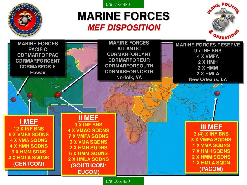 MARINE FORCES