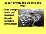 japan brings the us into the war187