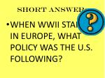 short answer71