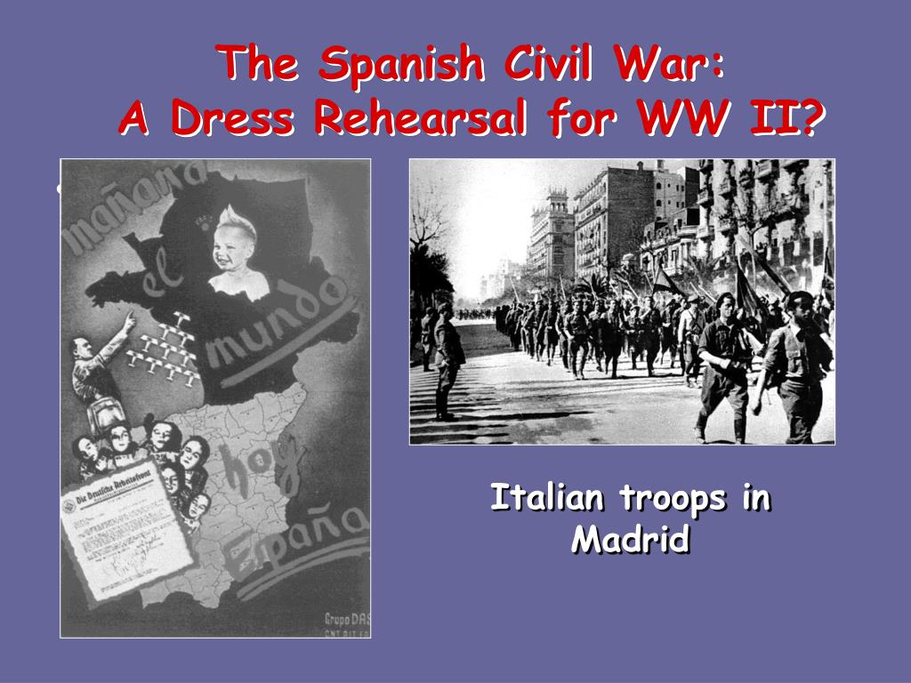 The Spanish Civil War: