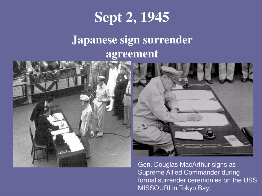 Sept 2, 1945