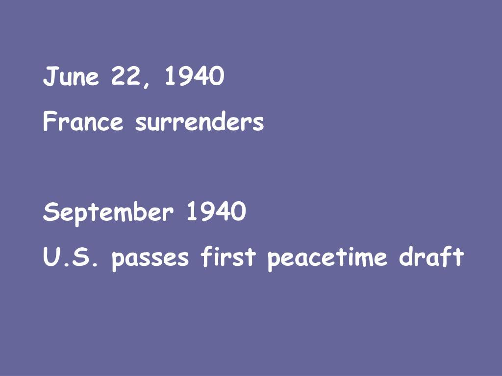 June 22, 1940