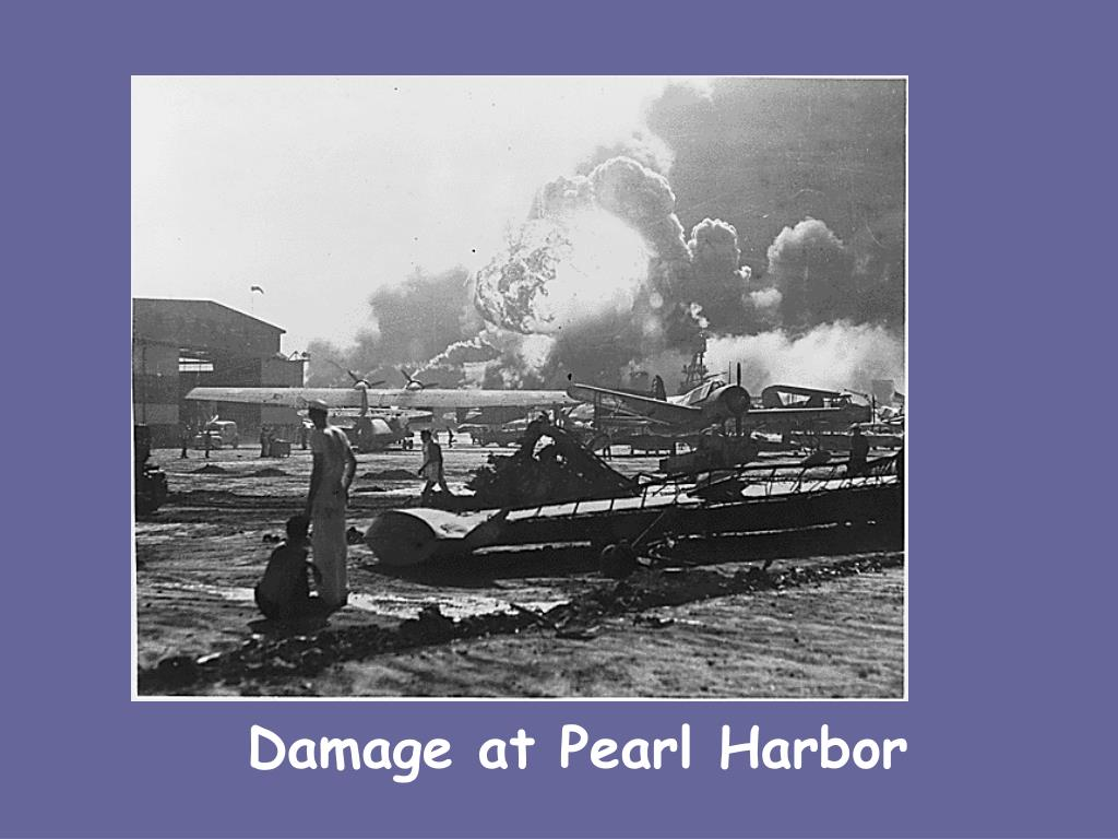 Damage at Pearl Harbor