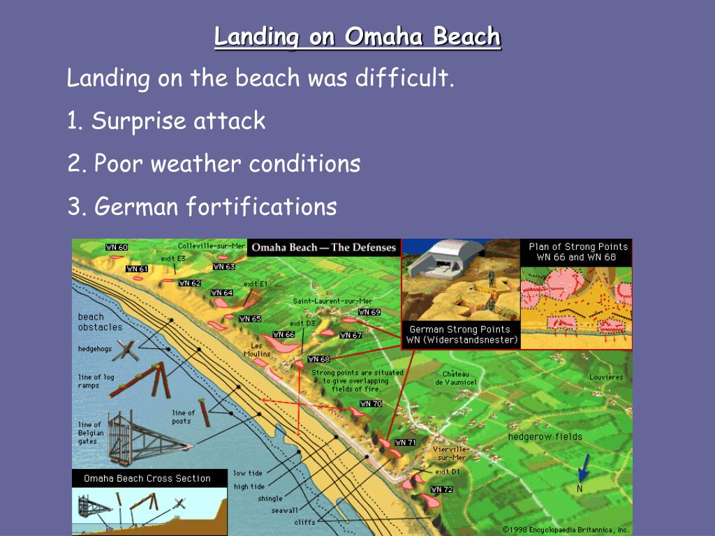 Landing on Omaha Beach