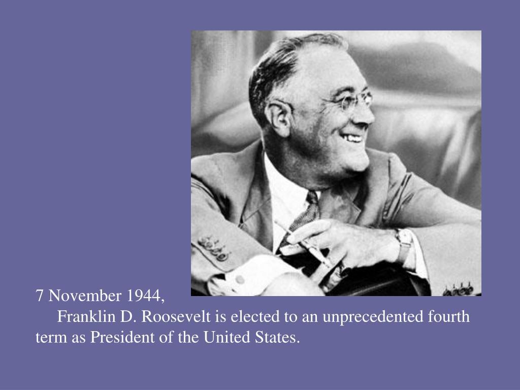 7 November 1944,