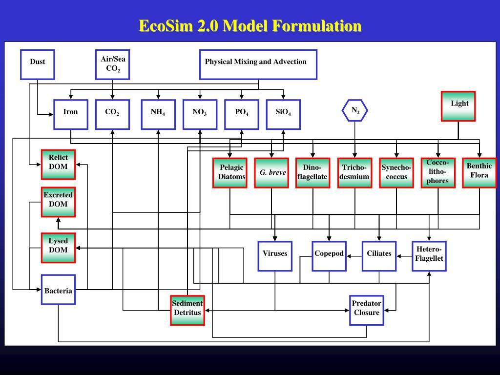 EcoSim 2.0 Model Formulation