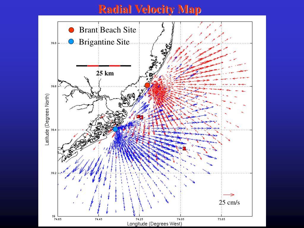 Radial Velocity Map