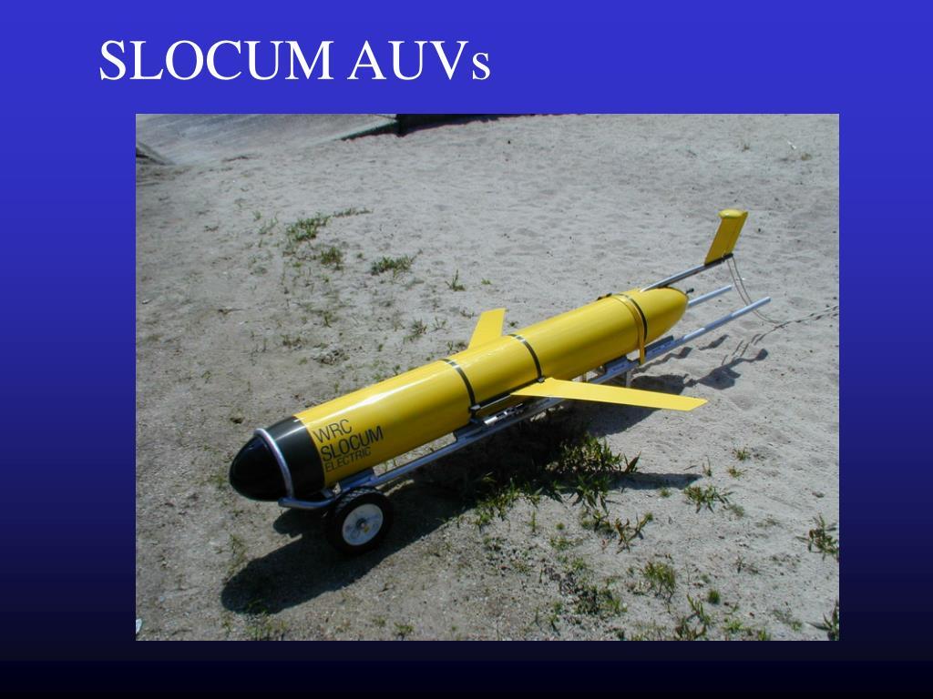 SLOCUM AUVs
