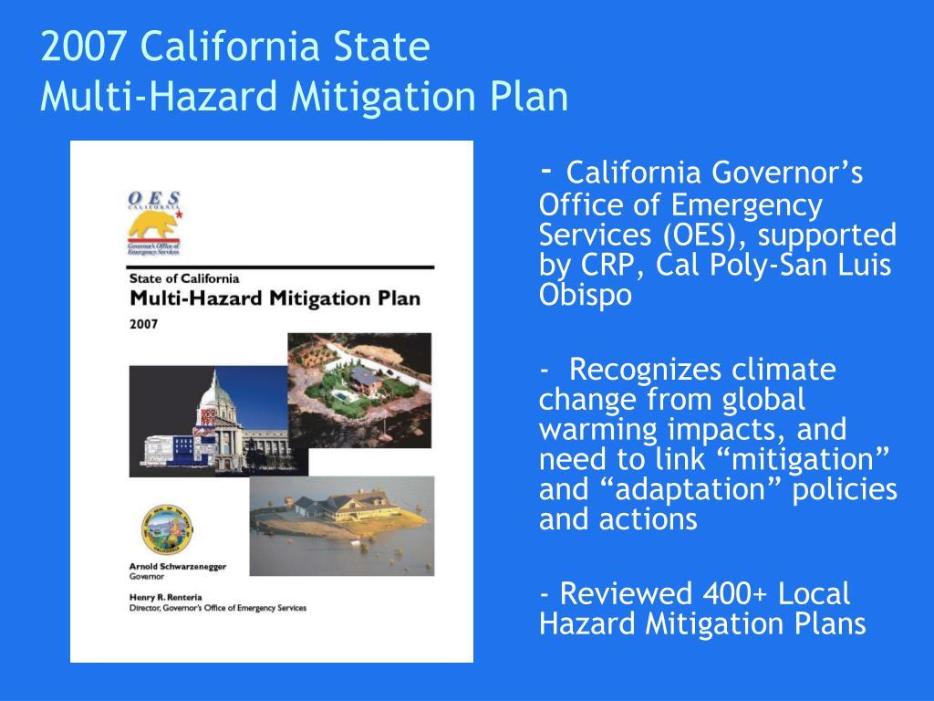 2007 California State