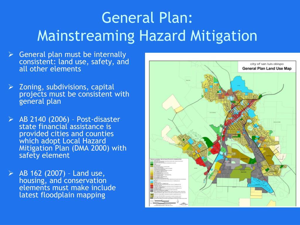 General Plan: