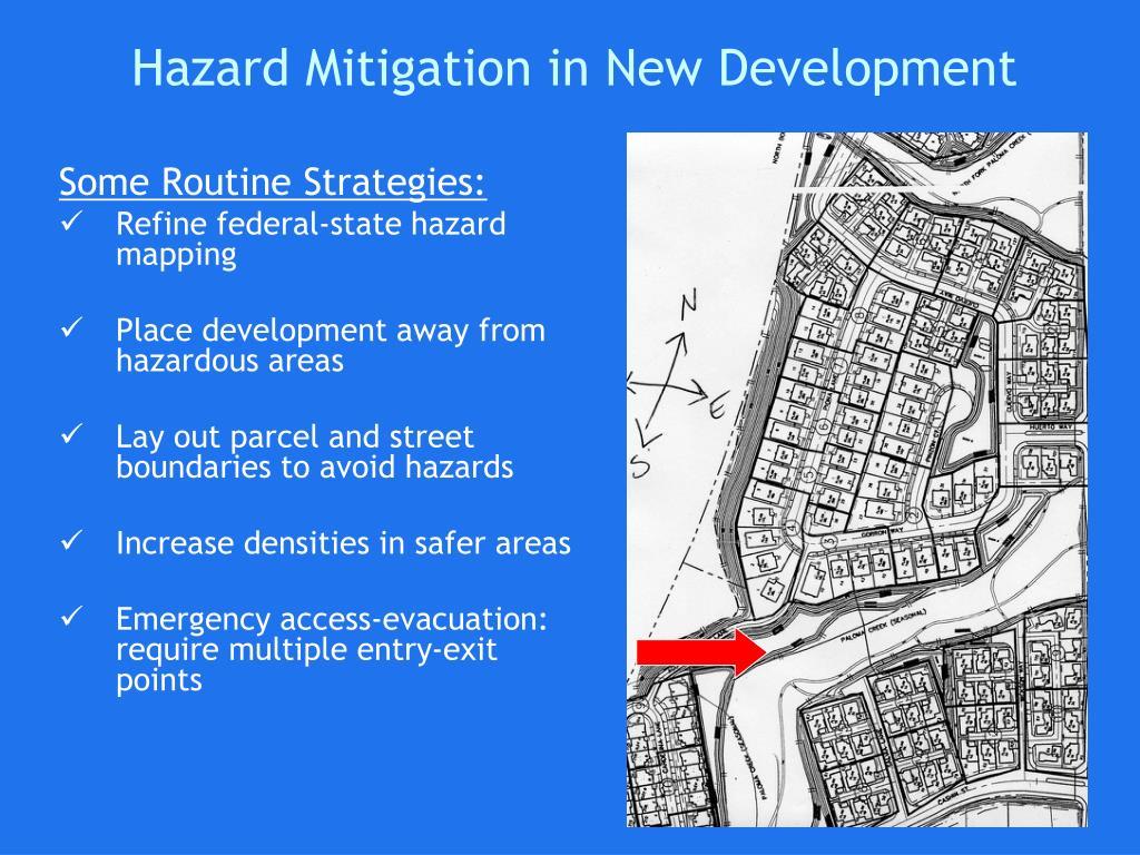 Hazard Mitigation in New Development