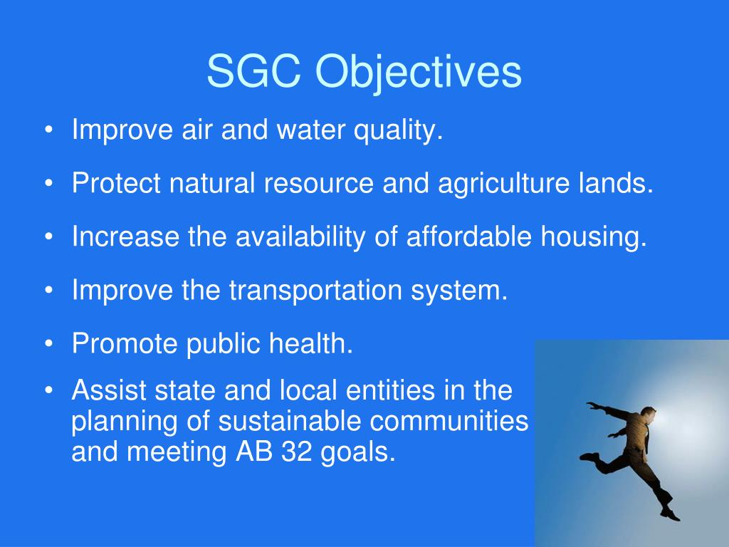 SGC Objectives