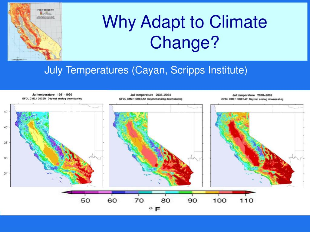 Why Adapt to Climate Change?