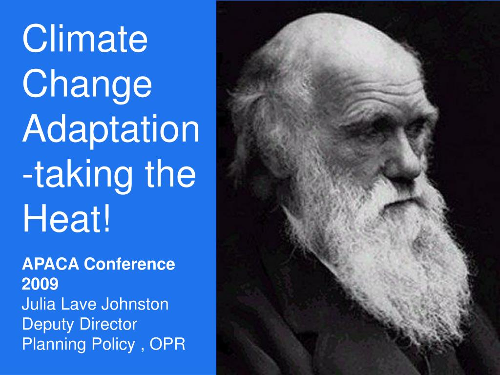 Climate Change Adaptation-taking the Heat!