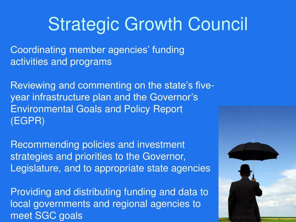Strategic Growth Council