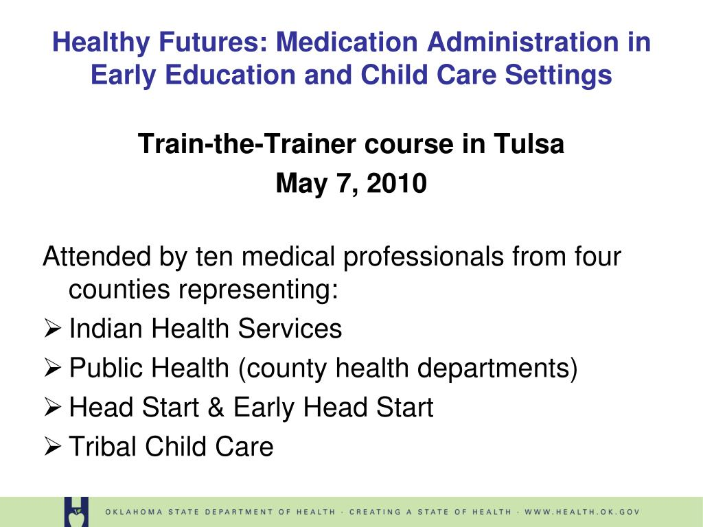 Train-the-Trainer course in Tulsa