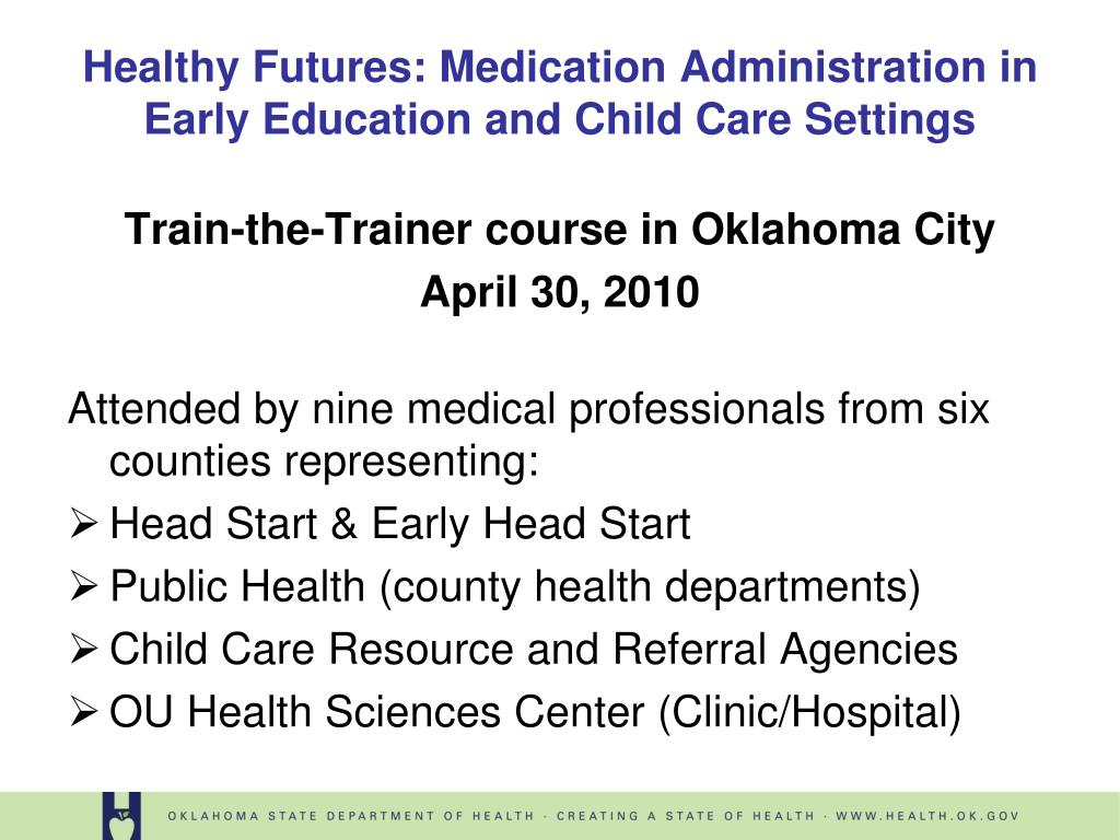 Train-the-Trainer course in Oklahoma City