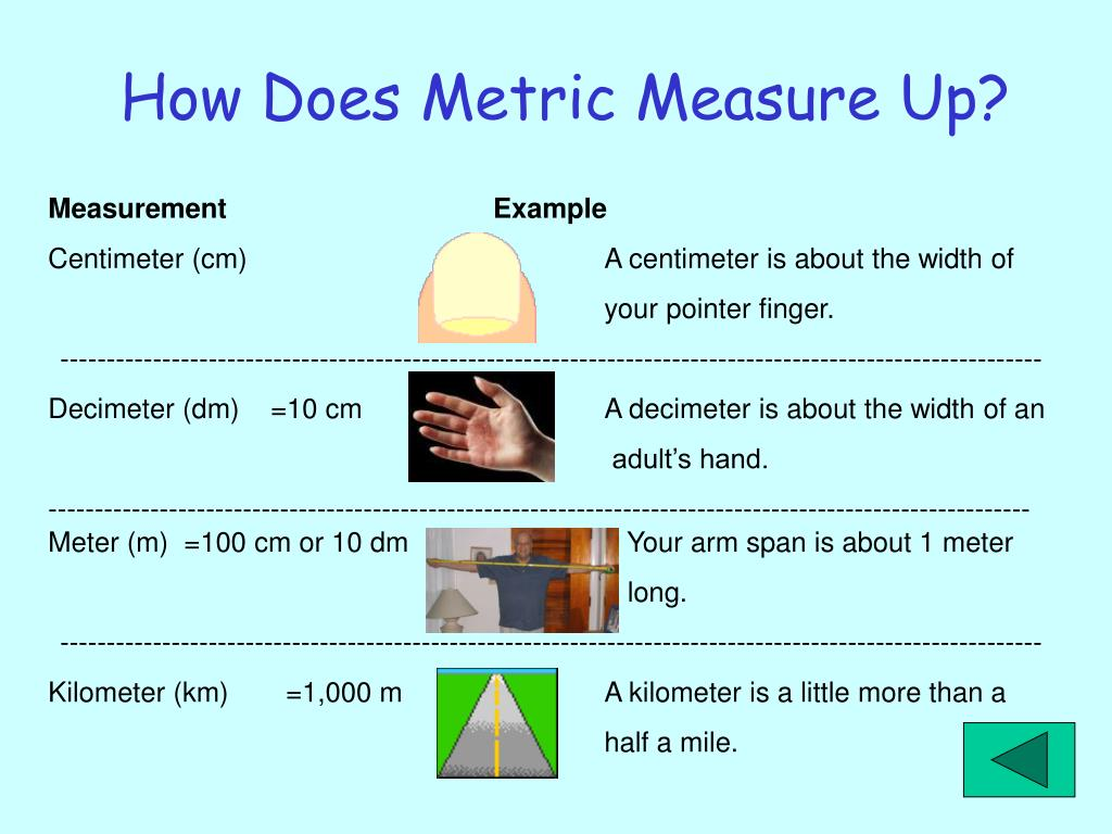 How Does Metric Measure Up?