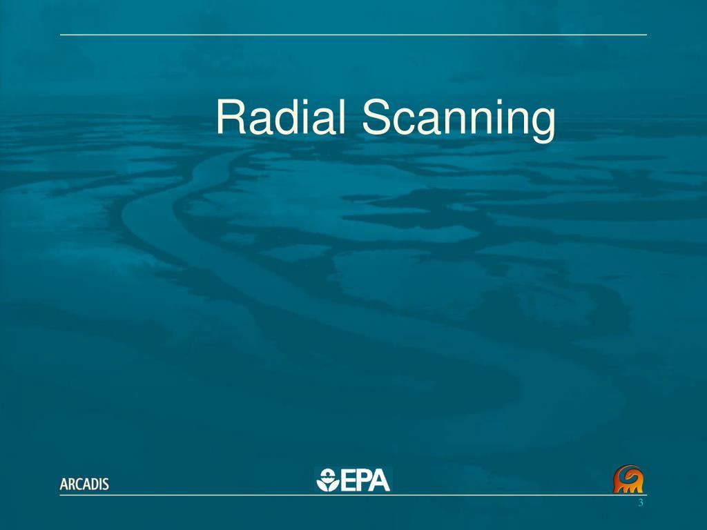 Radial Scanning